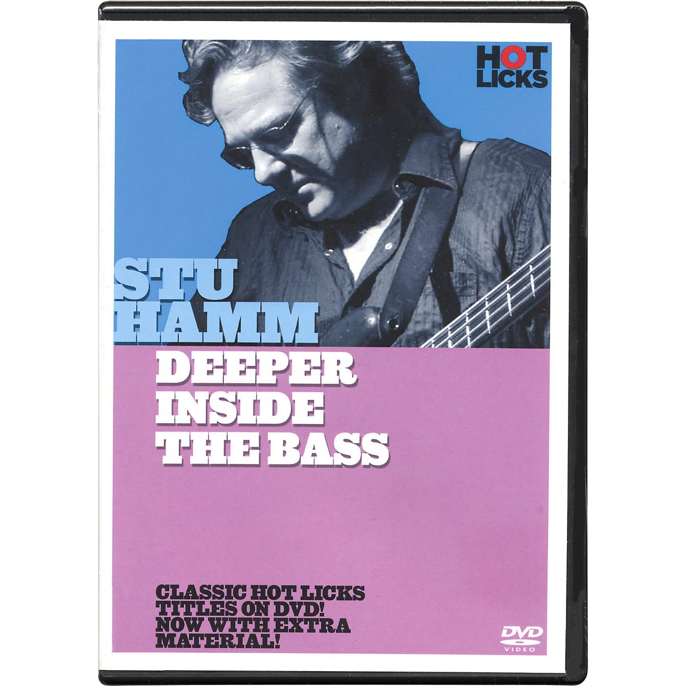 Hot Licks Stu Hamm Deeper Inside the Bass DVD thumbnail