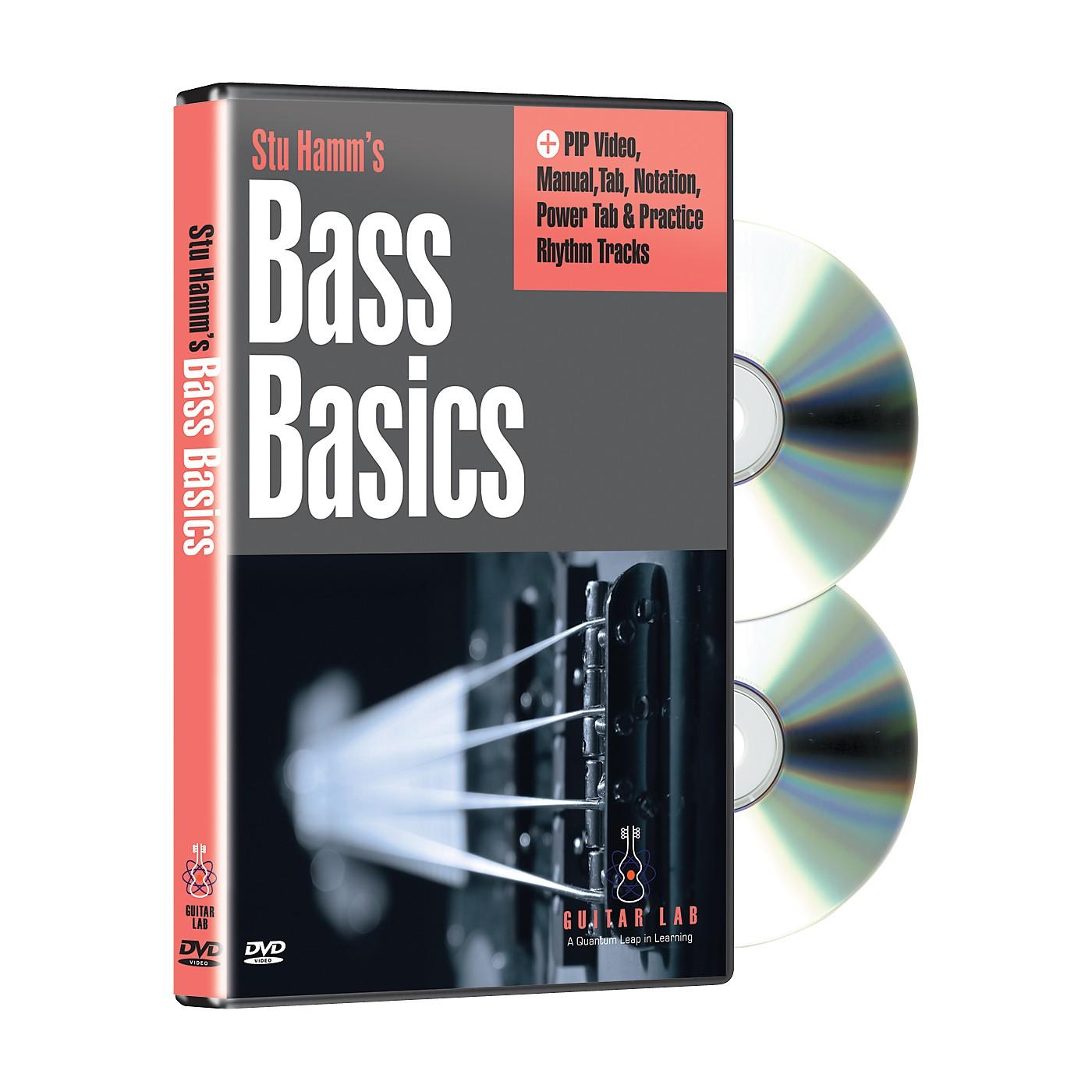 eMedia Stu Hamm U: Bass Basics (2-DVD Set) thumbnail