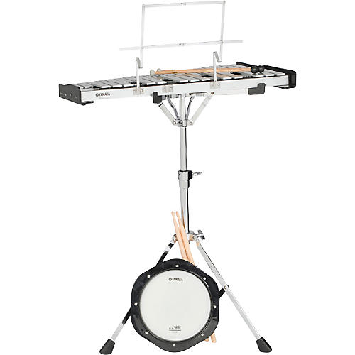 Yamaha Student Bell Kit with Backpack and Rolling Cart-thumbnail