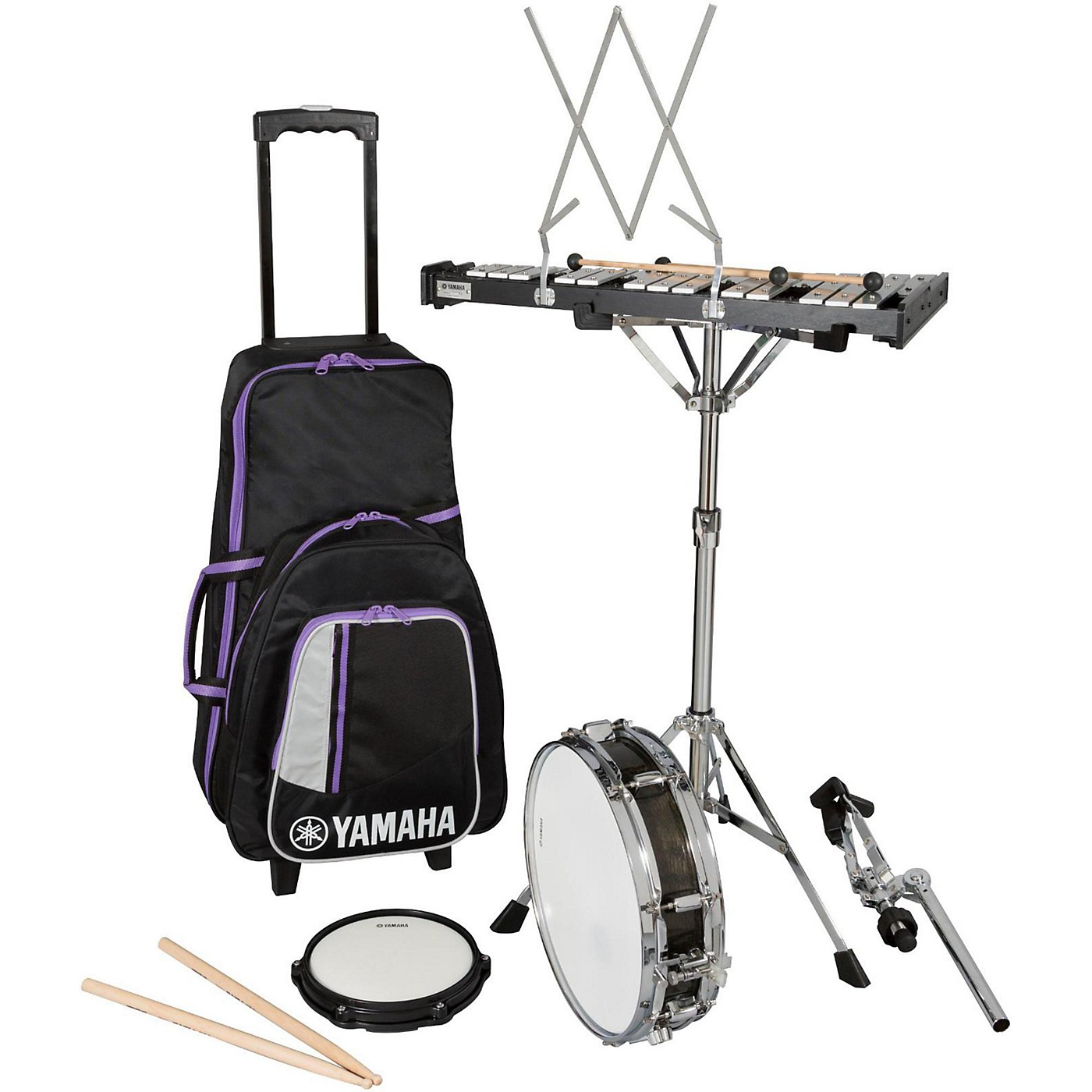 Yamaha Student Combination Percussion Kit with Rolling Case thumbnail