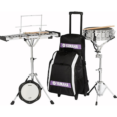 Yamaha Student Combination Snare/Bell Kit with Backpack and Rolling Cart thumbnail