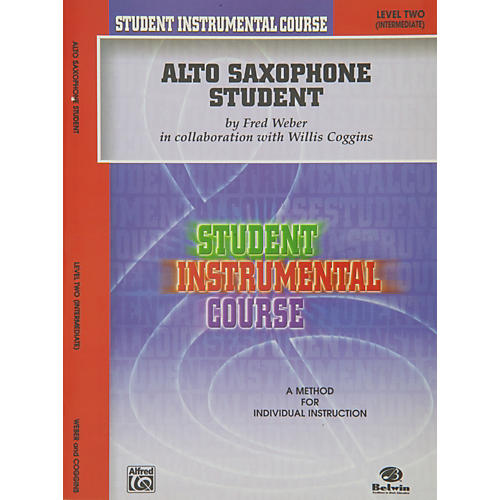 Alfred Student Instrumental Course Alto Saxophone Student Level II thumbnail