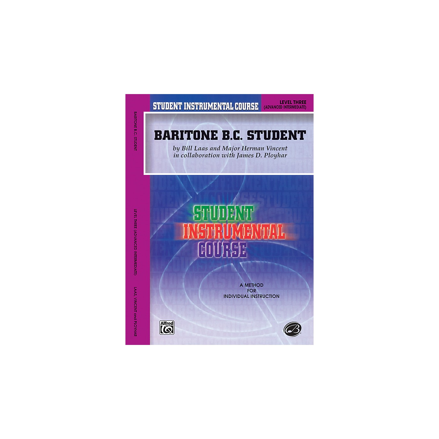 Alfred Student Instrumental Course Baritone (B.C.) Student Level 3 Book thumbnail