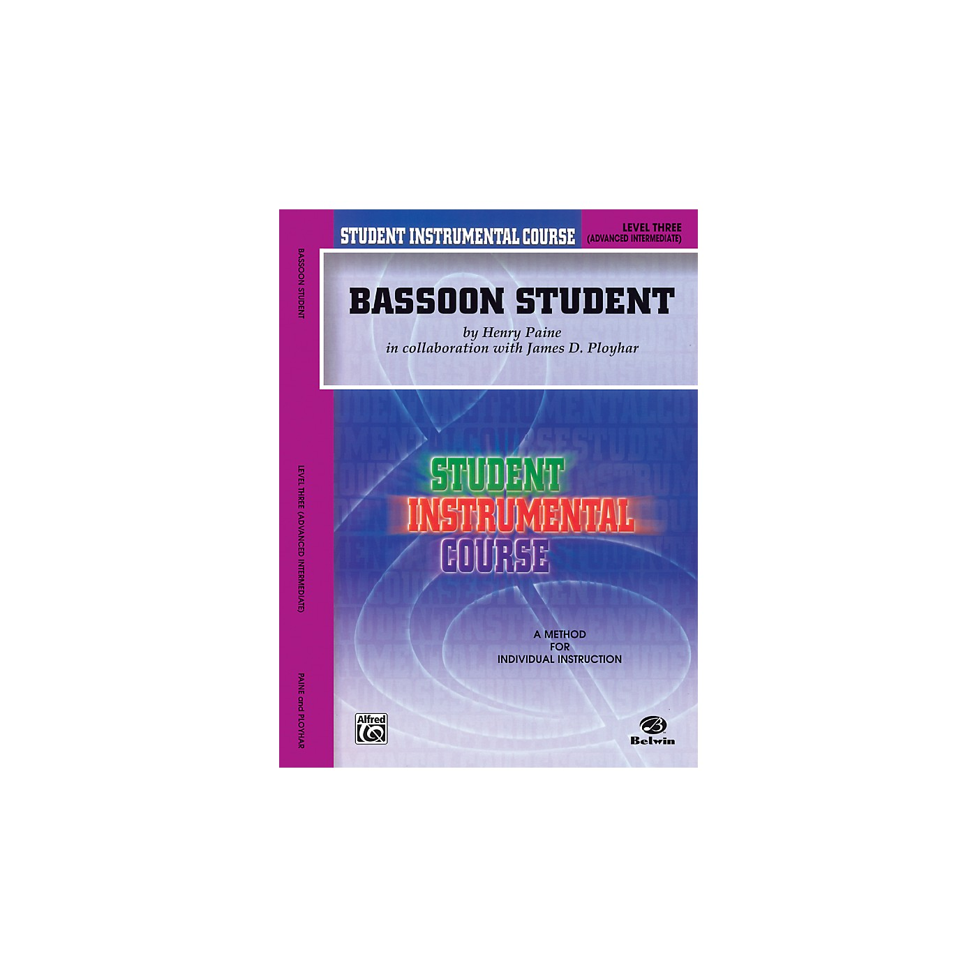 Alfred Student Instrumental Course Bassoon Student Level 3 Book thumbnail