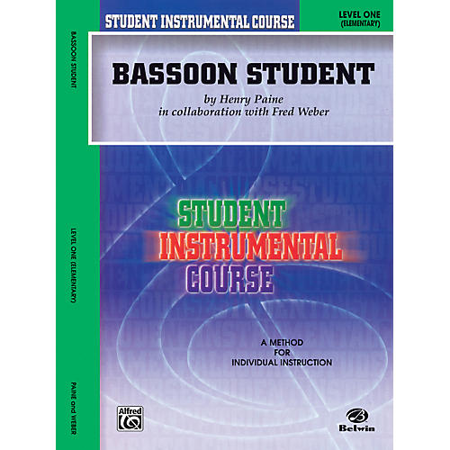 Alfred Student Instrumental Course Bassoon Student Level I thumbnail
