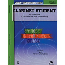 Alfred Student Instrumental Course Clarinet Student Level I