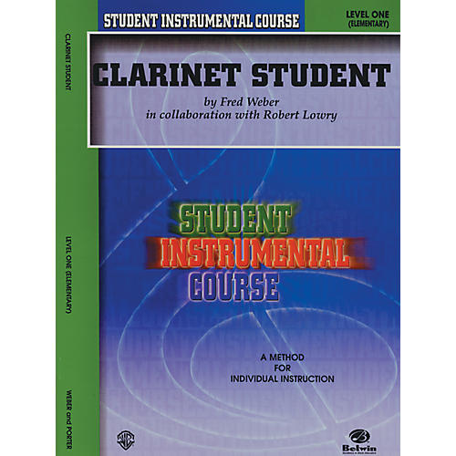 Alfred Student Instrumental Course Clarinet Student Level I-thumbnail