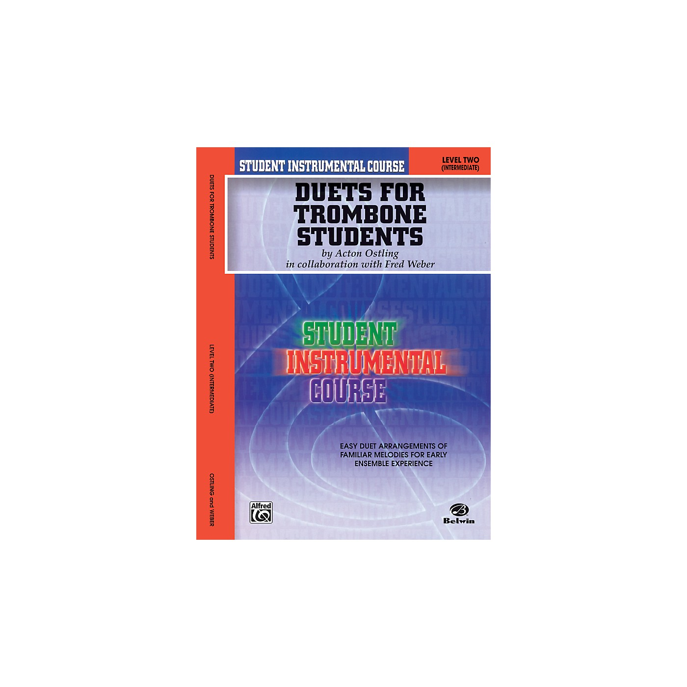 Alfred Student Instrumental Course Duets for Trombone Students Level 2 Book thumbnail