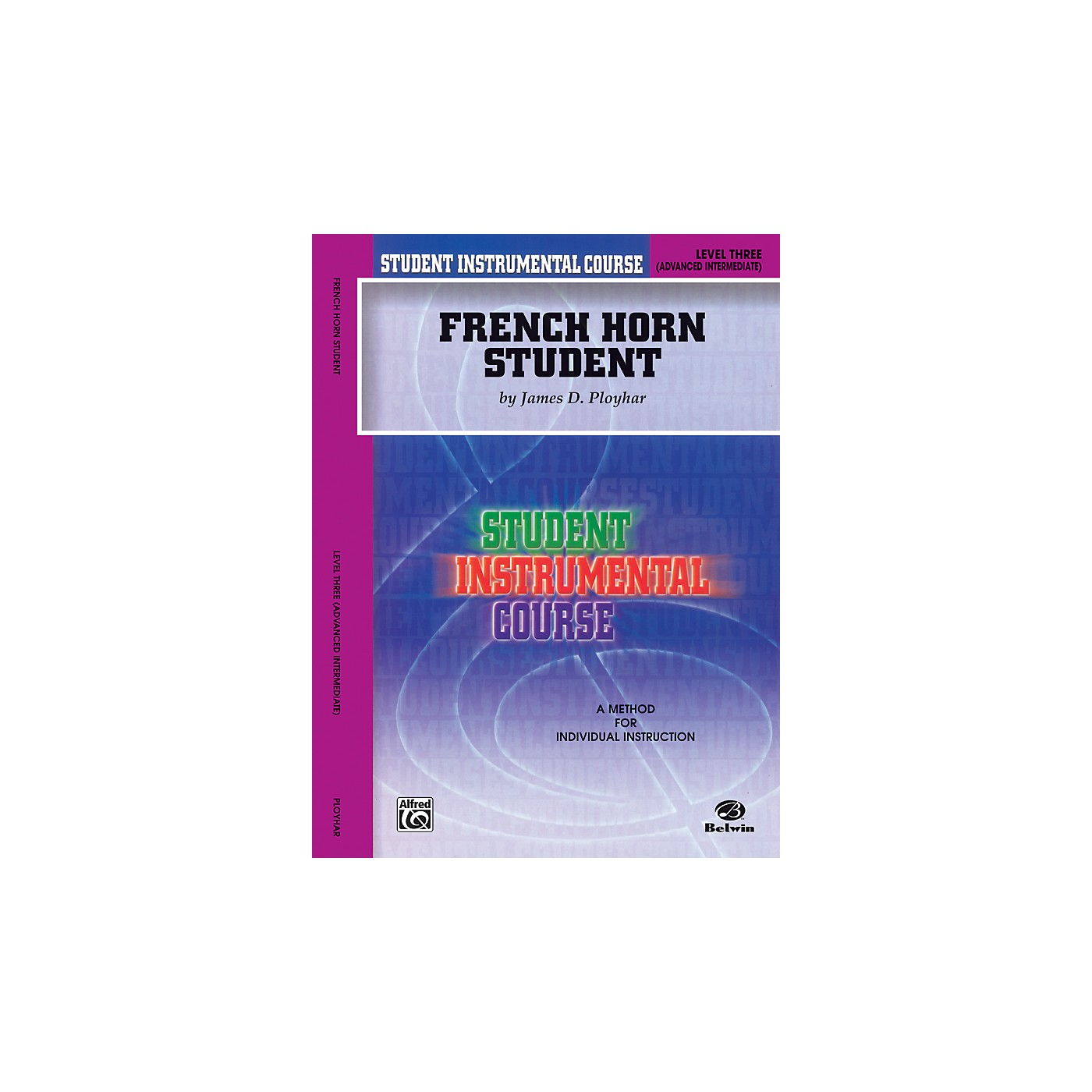 Alfred Student Instrumental Course French Horn Student Level 3 Book thumbnail