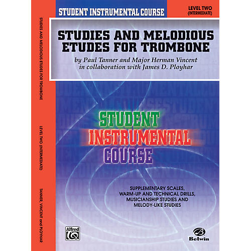 Alfred Student Instrumental Course Studies and Melodious Etudes for Trombone Level II thumbnail