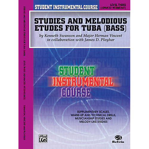 Alfred Student Instrumental Course Studies and Melodious Etudes for Tuba Level III thumbnail