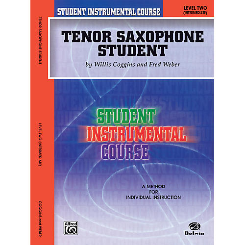 Alfred Student Instrumental Course Tenor Saxophone Student Level II thumbnail