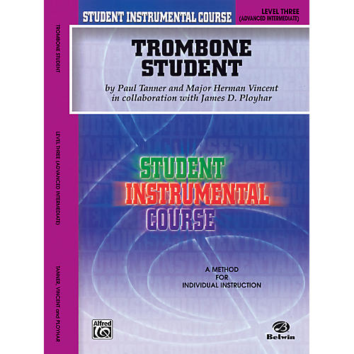 Alfred Student Instrumental Course Trombone Student Level 3 Book thumbnail
