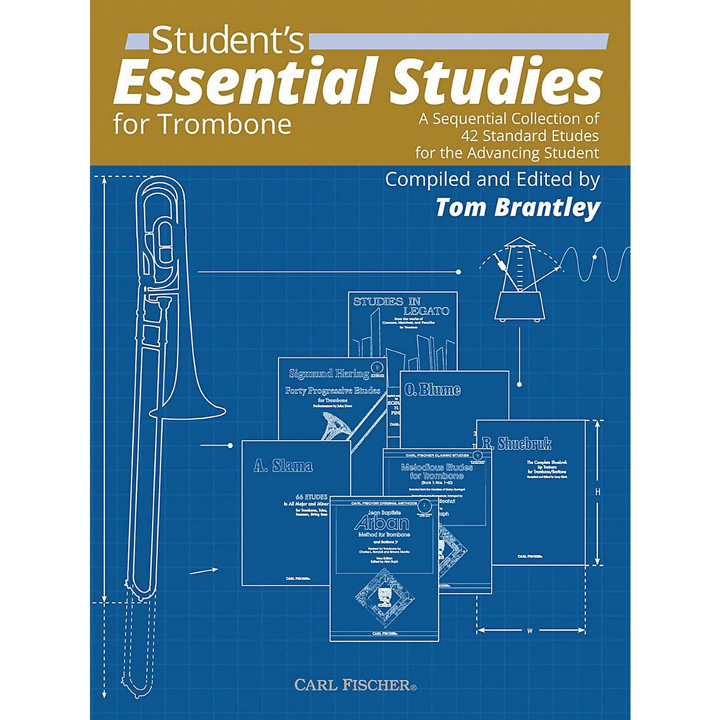 Carl Fischer Student's Essential Studies For Trombone thumbnail