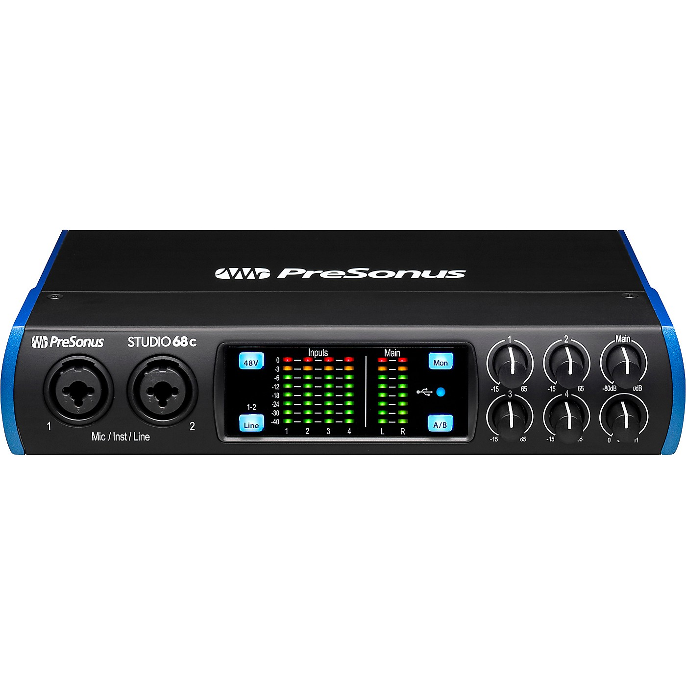 PreSonus Studio 68c USB-C 6x6 Audio/MIDI Interface thumbnail