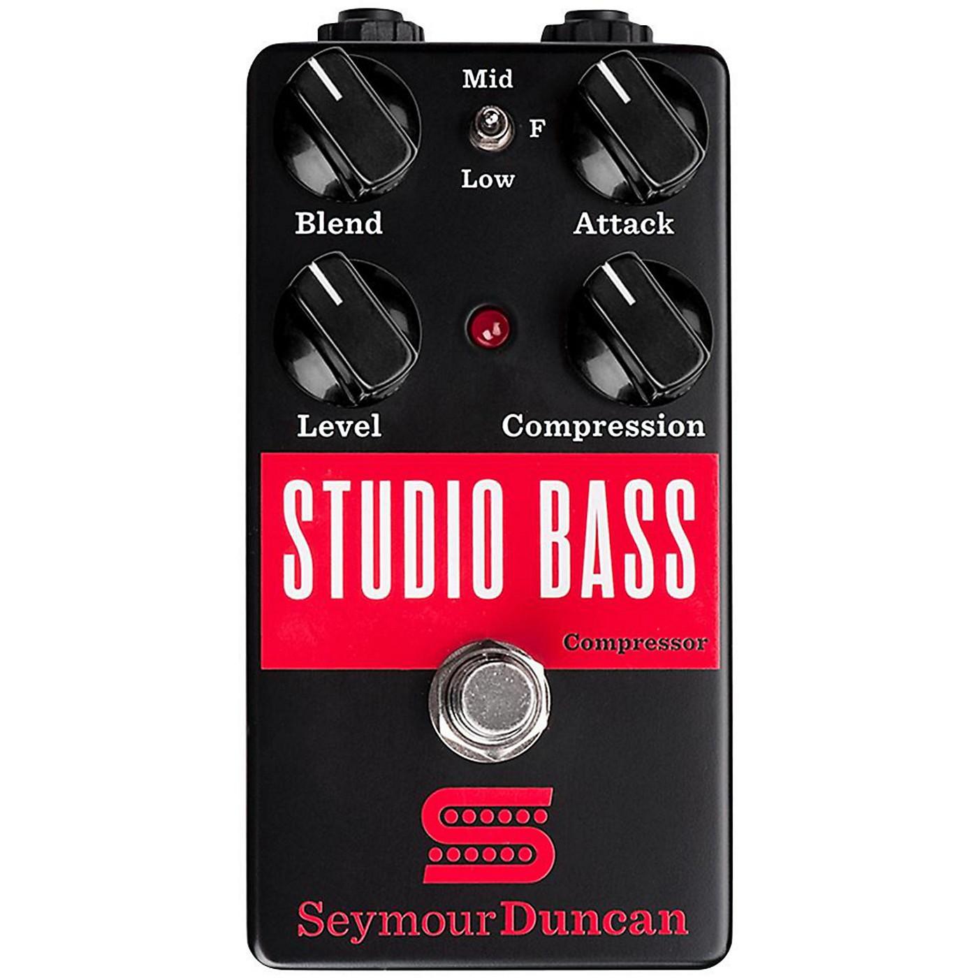 Seymour Duncan Studio Bass Compressor Effects Pedal thumbnail