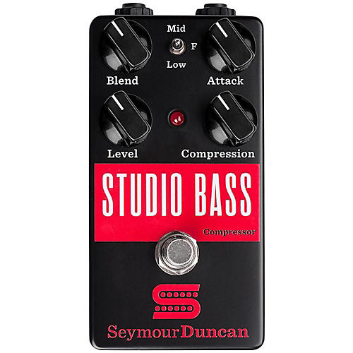 Seymour Duncan Studio Bass Compressor Effects Pedal thumbnail