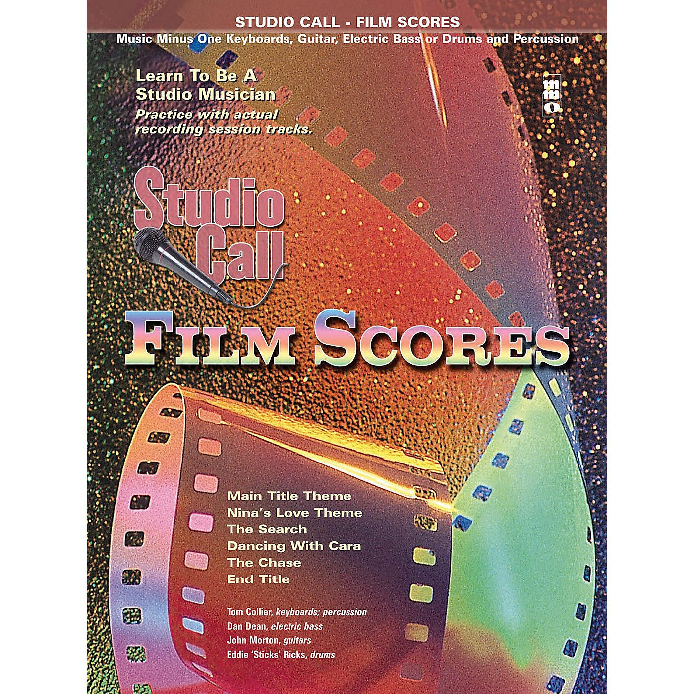 Music Minus One Studio Call: Film Scores - Drums (Learn to Be a Studio Musician) Music Minus One Series Softcover with CD thumbnail
