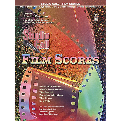 Music Minus One Studio Call: Film Scores - Piano (Learn to Be a Studio Musician) Music Minus One Series Softcover with CD thumbnail