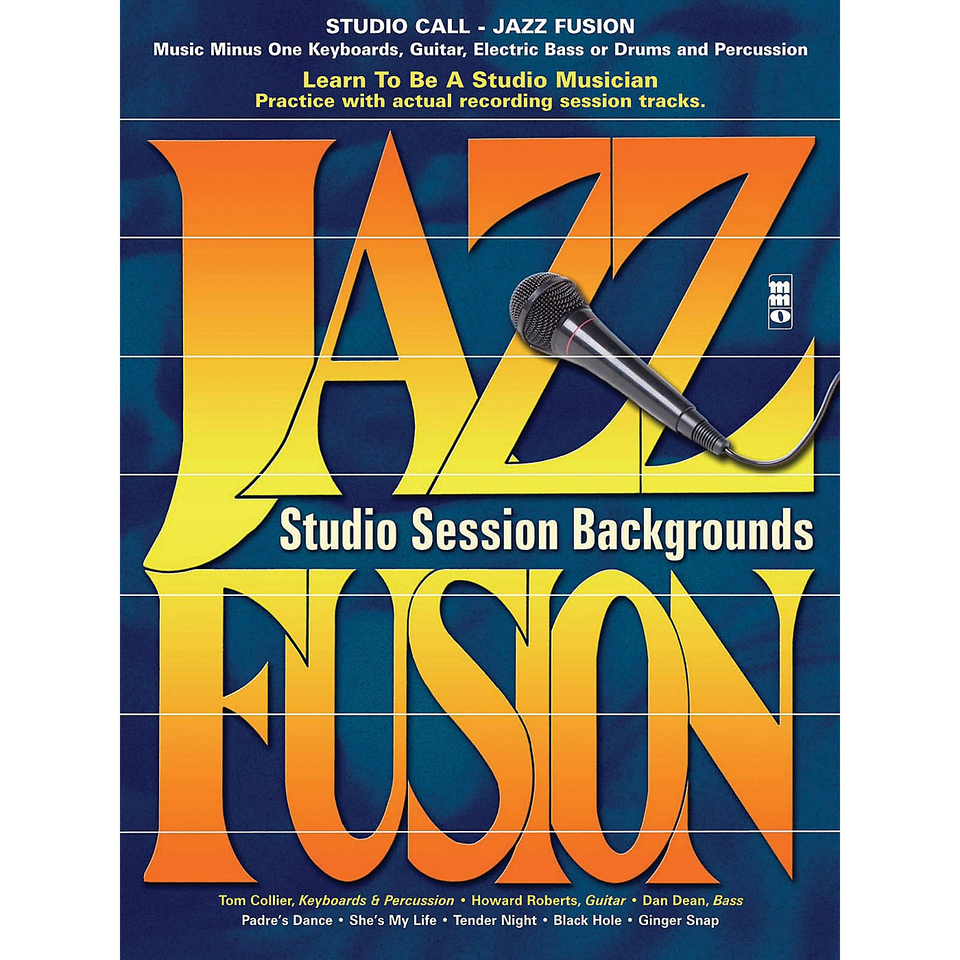 Music Minus One Studio Call: Jazz/Fusion - Piano (Learn to Be a Studio Musician) Music Minus One Series Softcover with CD thumbnail