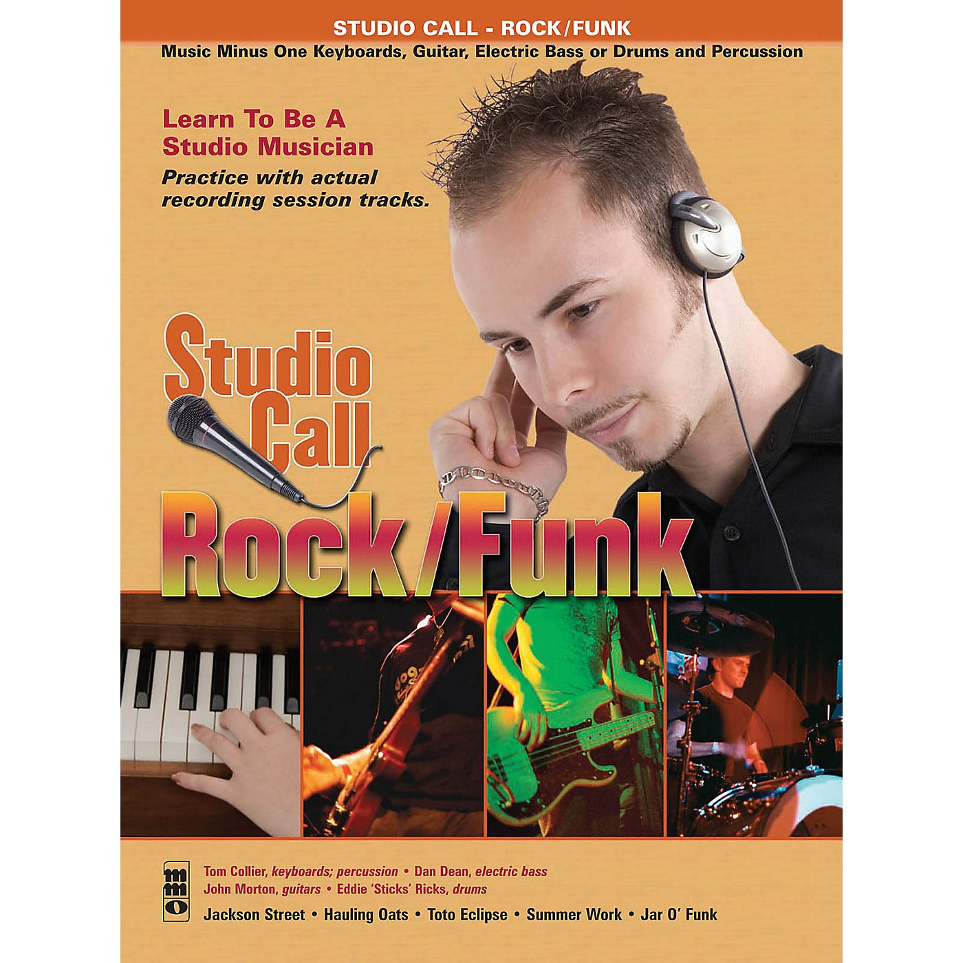 Music Minus One Studio Call: Rock/Funk - Piano (Learn to Be a Studio Musician!) Music Minus One Series Softcover with CD thumbnail