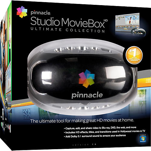 Pinnacle Studio MovieBox Ultimate Collection 14 thumbnail
