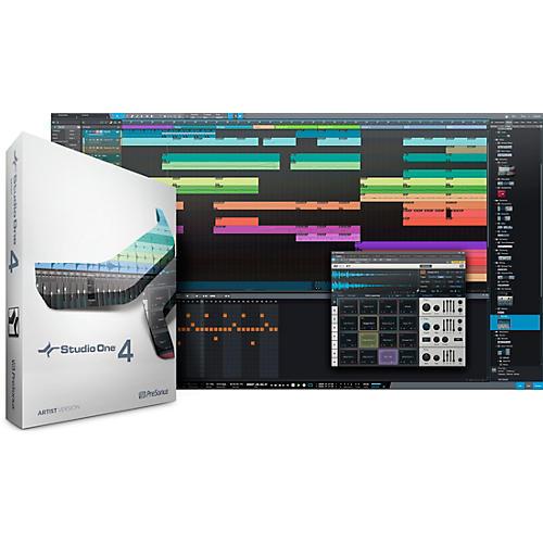 PreSonus Studio One 4 Artist Boxed Version thumbnail