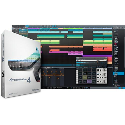 PreSonus Studio One 4 Artist Educational Version thumbnail
