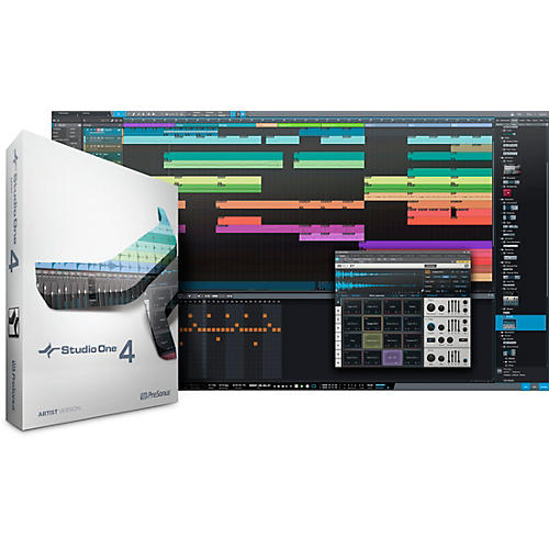 PreSonus Studio One 4 Artist Upgrade from Artist (All Versions) Software Download thumbnail