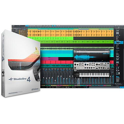 PreSonus Studio One 4 Professional Crossgrade from Notion Software Download thumbnail