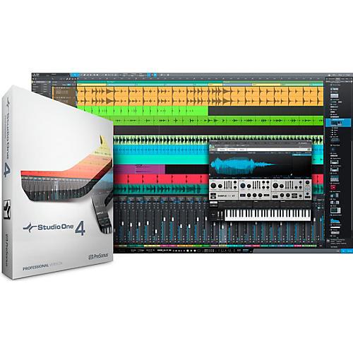 PreSonus Studio One 4 Professional Upgrade from Artist Software Download thumbnail