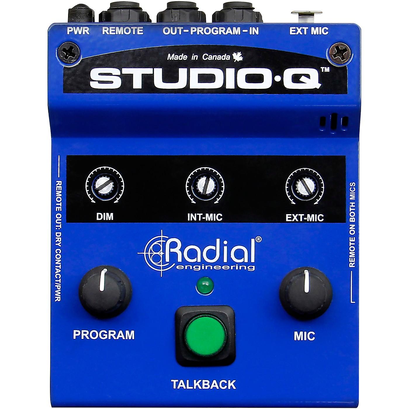 Radial Engineering Studio-Q Desktop Cue & Talkback Controller thumbnail