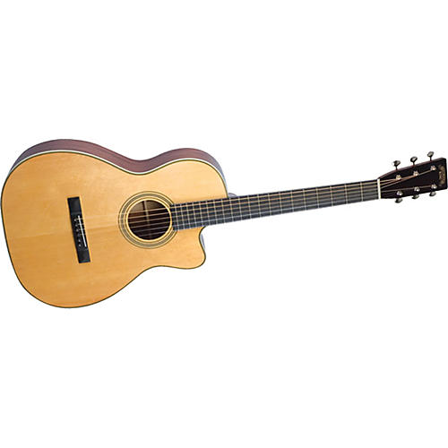 Recording King Studio Series 12 Fret O Acoustic/Electric Guitar with Cutaway-thumbnail