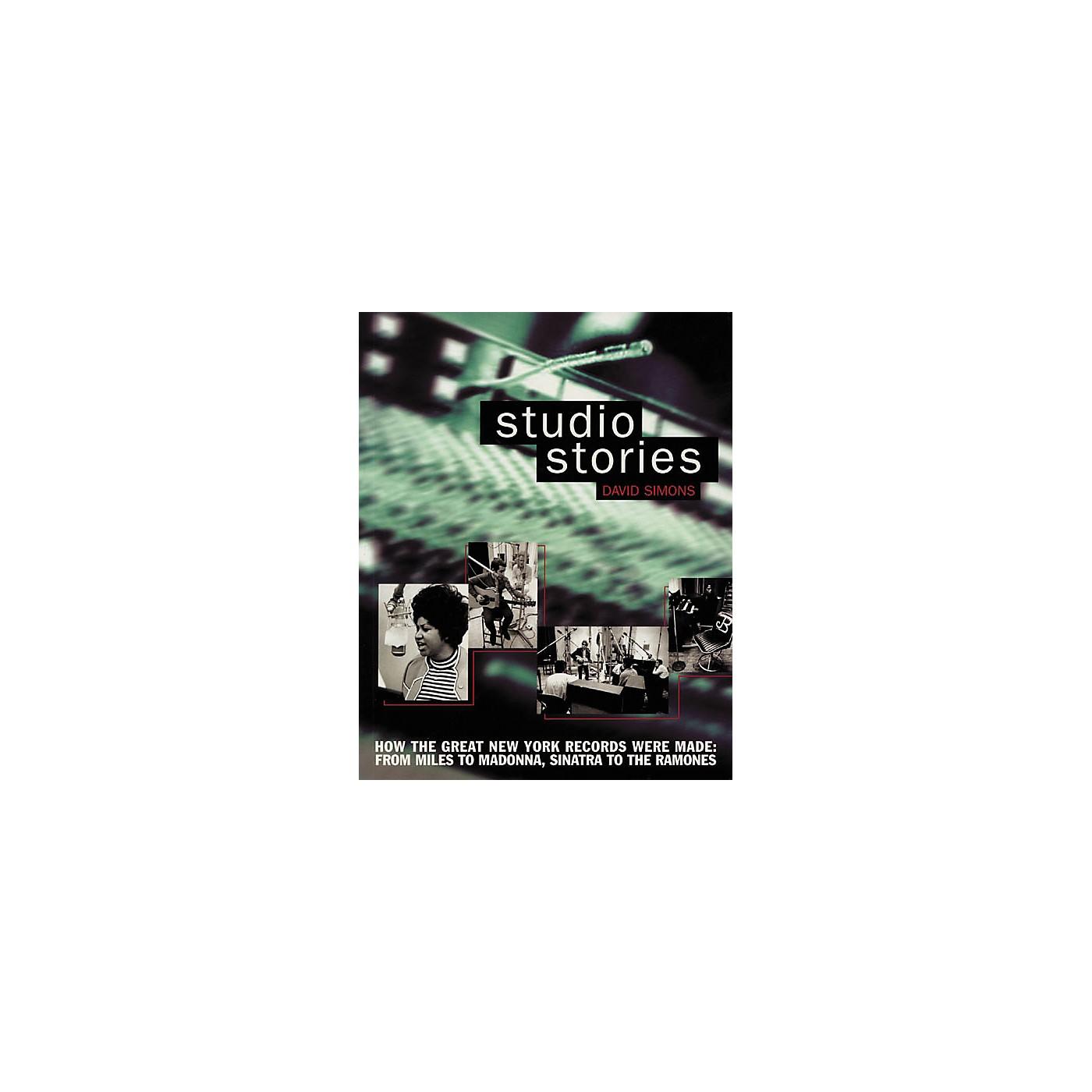 Backbeat Books Studio Stories Book thumbnail