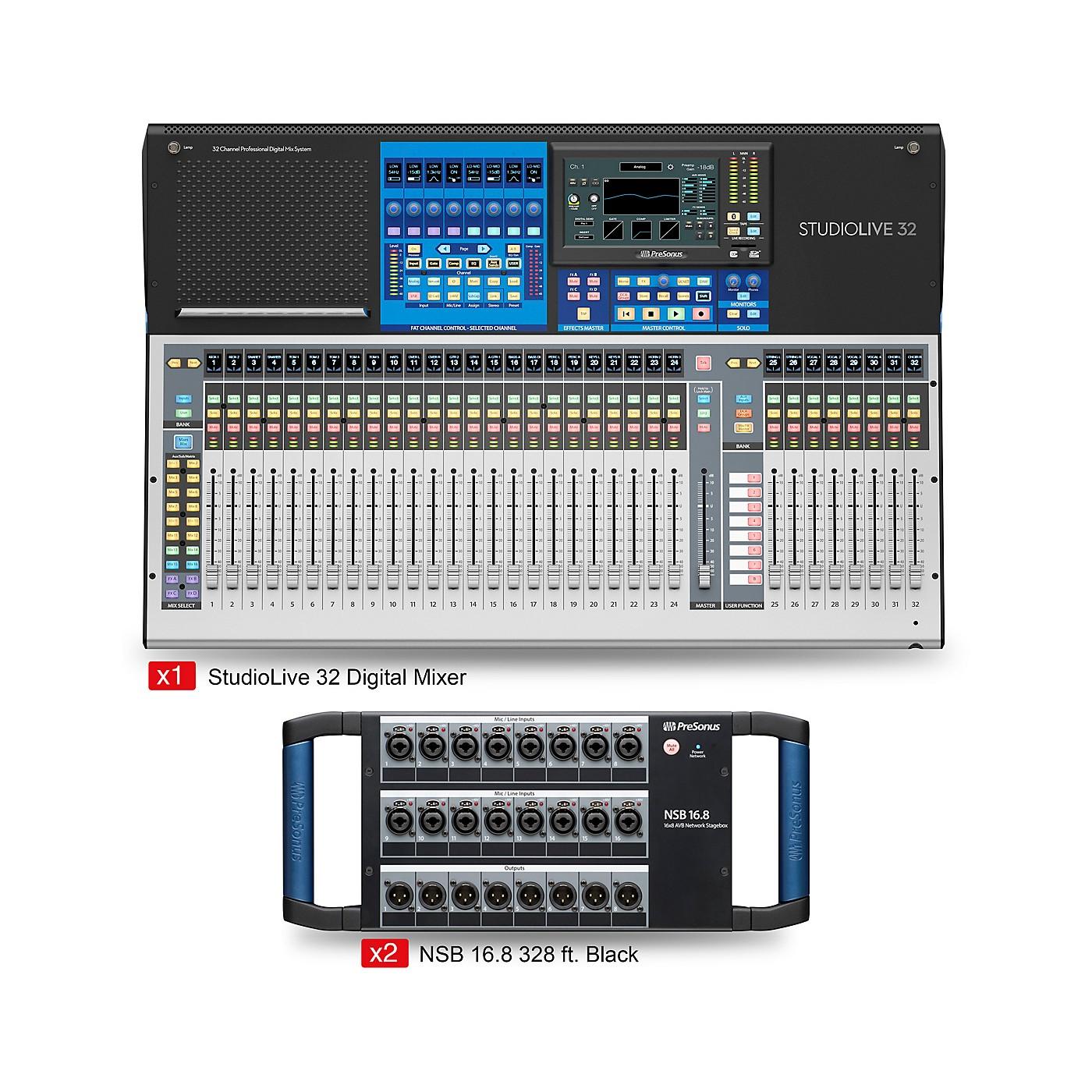 PreSonus StudioLive 32 Starter Dual Stagebox Mix Package thumbnail