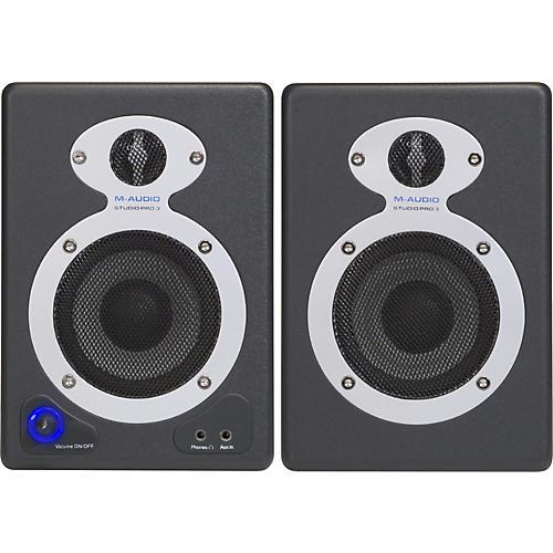 M-Audio StudioPro 3 Desktop Audio Monitors thumbnail