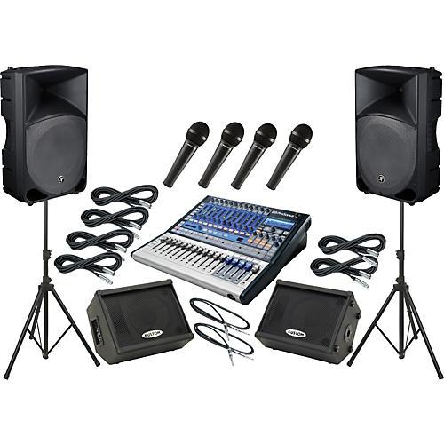 PreSonus Studiolive 16.0.2 / Mackie Thump TH-15A Mains and Monitors Package thumbnail