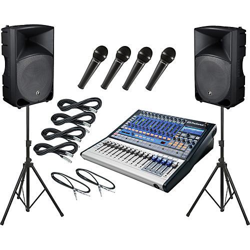 PreSonus Studiolive 16.0.2 / Mackie Thump TH-15A PA Package thumbnail