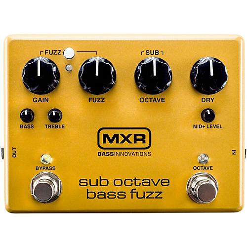MXR Sub Octave Bass Fuzz Pedal thumbnail