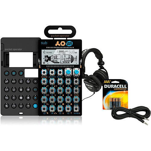 Teenage Engineering Sub Pocket Operator with Case, Batteries, Headphones and Cable thumbnail