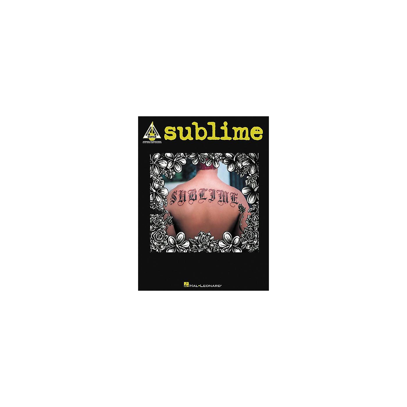 Hal Leonard Sublime Guitar Tab Book thumbnail