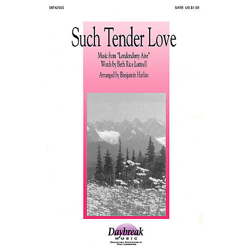 Brookfield Such Tender Love (SATB) SATB arranged by Benjamin Harlan thumbnail