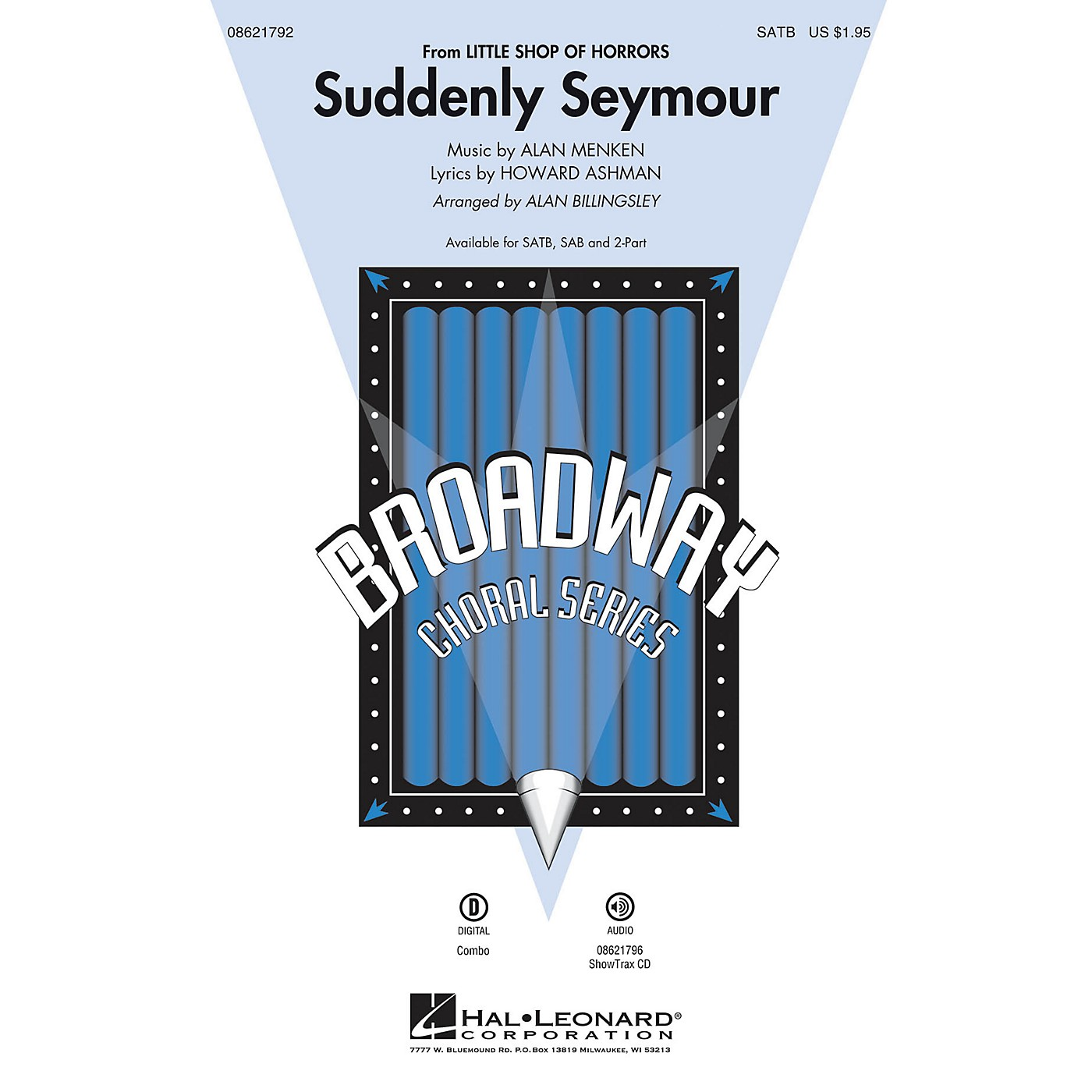 Hal Leonard Suddenly Seymour (from Little Shop of Horrors) 2-Part Arranged by Alan Billingsley thumbnail