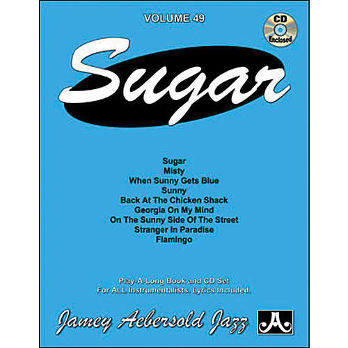 Jamey Aebersold Sugar Play-Along Book and CD-thumbnail