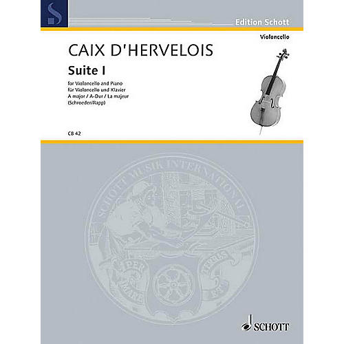 Schott Suite 1 A Major (Cello and Piano) Schott Series thumbnail