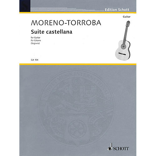 Schott Suite Castellana (Guitar Solo) Schott Series thumbnail