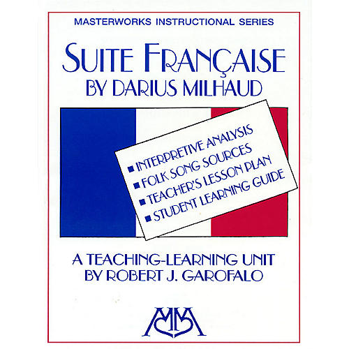 Meredith Music Suite Francaise Meredith Music Resource Series Arranged by Robert J. Garofalo thumbnail