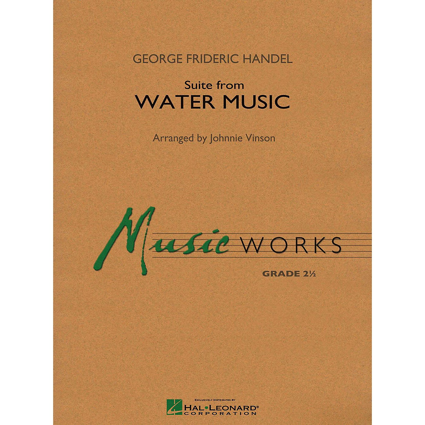 Hal Leonard Suite From Water Music Concert Band Level 2 thumbnail