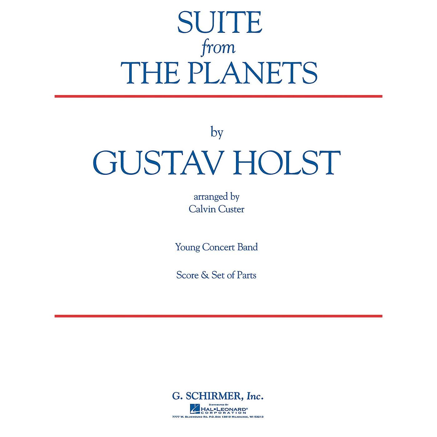 G. Schirmer Suite (Full Score) Concert Band Level 4-5 Arranged by Calvin Custer thumbnail