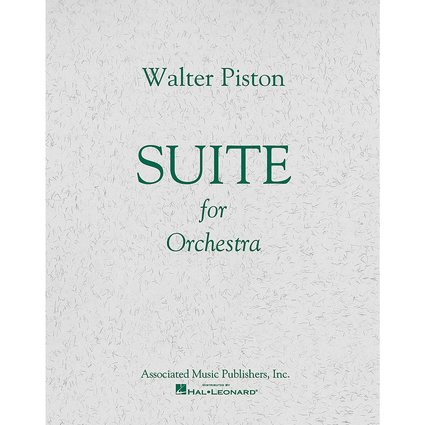Associated Suite No. 1 for Orchestra (Full Score) Study Score Series Composed by Walter Piston thumbnail